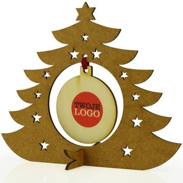 (Подарок подарок праздничный логотип компании елка 1d) доставка товаров из Польши и Allegro на русском