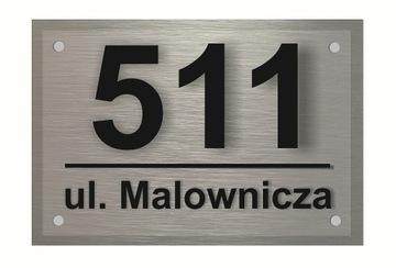 Доска адресная Алюминий 3D Табличка Номер Дома доставка товаров из Польши и Allegro на русском