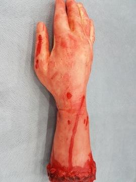 Ужасная искусственная рука гаджет кровь доставка товаров из Польши и Allegro на русском