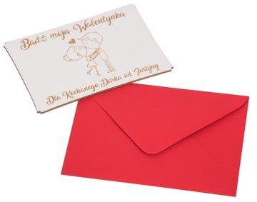 (В день св. ВАЛЕНТИНА ОТКРЫТКА подарок день святого ВАЛЕНТИНА) доставка товаров из Польши и Allegro на русском