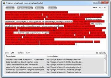 Программа Antyplagiatowy Antyplagiat Плагиат счет-фактура доставка товаров из Польши и Allegro на русском