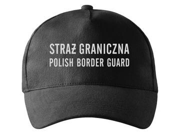 ФУРАЖКА ПОГРАНИЧНАЯ СЛУЖБА СВЕТООТРАЖАЮЩИЙ НАДПИСЬ доставка товаров из Польши и Allegro на русском