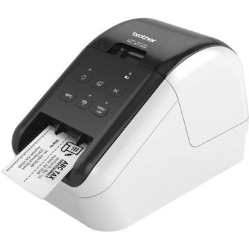 ПРИНТЕР ЭТИКЕТОК BROTHER QL-810W USB + WIFI ПОЛЬША доставка товаров из Польши и Allegro на русском