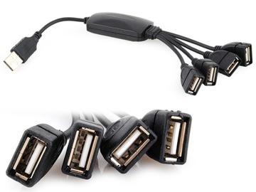 USB Hub Разветвитель 4 Порта Сплиттер с Кабелем доставка товаров из Польши и Allegro на русском