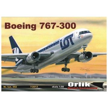 Орлик 092 Авиалайнер Боинг 767-300 1:50 доставка товаров из Польши и Allegro на русском