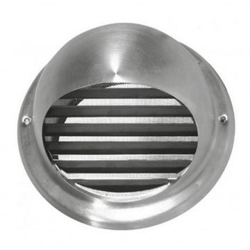 Nerezový prívod / výfuk vzduchu UVLA 200 CHROM / INOX