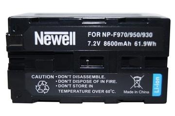 Newell nabíjateľný do Sony NP-F960 F970 F950 F930