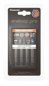 ENLOOP BQ-CC55 + 4X R6 AA PRO 2500MAH nabíjačka