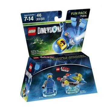LEGO ROZMERY 71214 Zábavný balíček filmu Benek