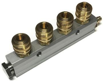 Distribútor pneumatický vzduchový pás 1/2 - 4