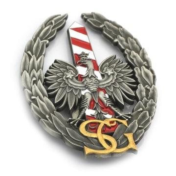 Odznak Border Guard namontovaný na klipe