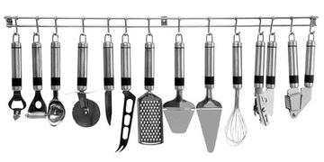Kuchynské doplnky Sada 13ELM oceľových spotrebných materiálov