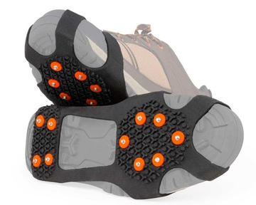 Protišmykové mačky pre topánky s hrotmi M: 36-40
