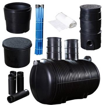 Čistiareň odpadových vôd pre domácnosť až pre 5 6 osôb 2 000 l