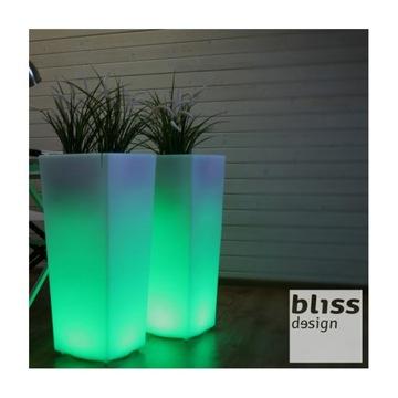 Dekoratívny 75 cm LED RGB vonkajší hrniec NOVINKA