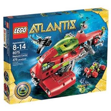 LEGO 8075 Neptúnová transportná loď