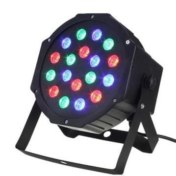 Colorophone Disco Lampa Droboskop Laser RGB