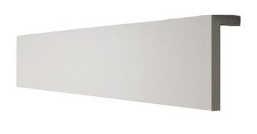 Zakrytie záclonovej tyče L 13x4cm Krycia lišta Cornice