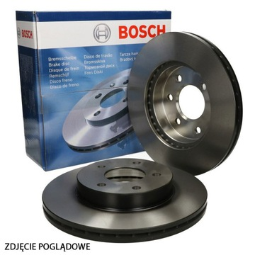 Тормозной диск bosch alfa romeo 159 (939) перед, фото