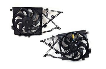 Новый вентилятор радиатора opel vectra b 95 - 02, фото
