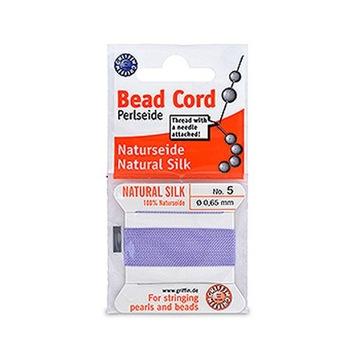BeNic9 Бисерная шелковая нить для жемчуга фиолетовая 0,65