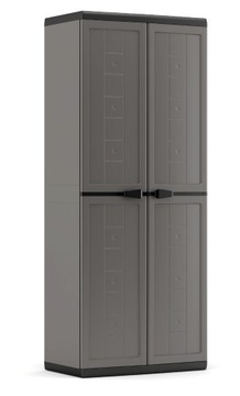 Шкаф высокий пластиковый 166см WARSAW