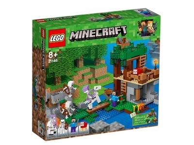 LEGO Minecraft útok kostry 21146