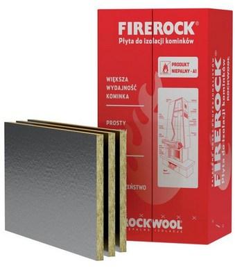 Vlna krb FIREROCK25mm 4,8m2+taśmaADVANCE50m