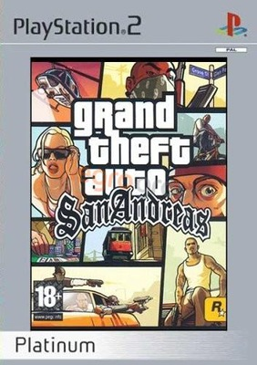 Oryginał gra Ps-2''Grand Theft Auto: San Andreas''