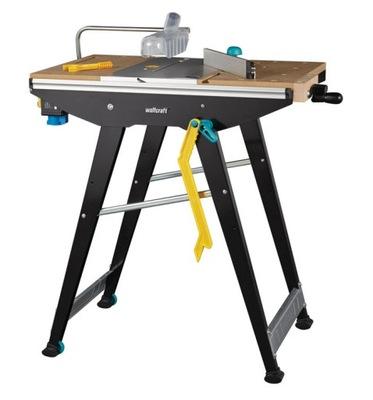 Pracovný stôl, stavebný podstavec -  WOLFCRAFT MASTER CUT 1500 PRACOVNÁ TABULKA 6906000
