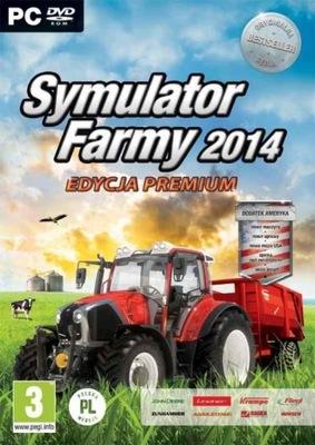 2 gry SYMULATOR FARMY 2014 Edycja Premium +Ameryka