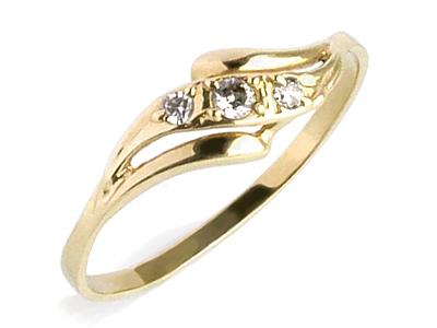 735ff2a9800416 Złoty Pierścionek Zaręczynowy SAVICKI Szafirem 585 7034305805 ...