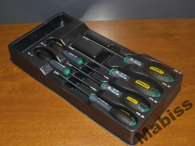Sada nástrojov - FATMAX SCREWDRIVER MODUL 6 PCS TORX STANLEY 1-94-941