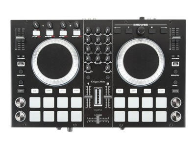 Kontroler DJ mikser Kruger&Matz DJ-003