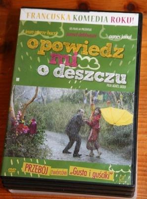 OPOWIEDZ MI O DESZCZU   DVD