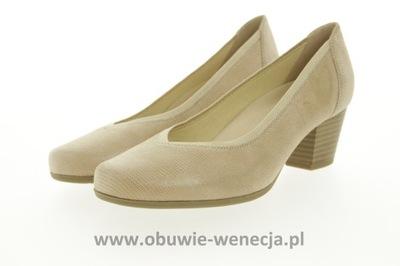 9256cd31 CAPRICE CZÓŁENKA D.9-22500-20 920 38 SREBRNY 7282538771 - Allegro.pl