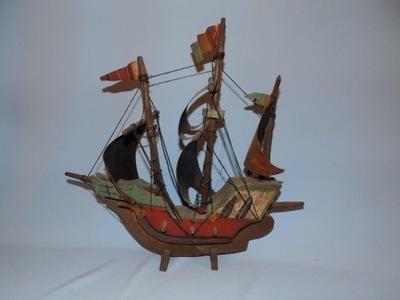 античный ПАРУСНИК 1422 макет корабль
