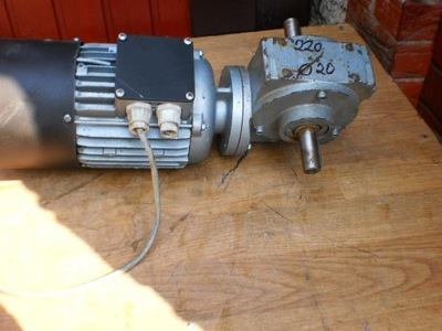 motoreduktor 220 obr silnik elektryczny 1,1 kw