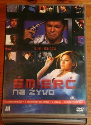ŚMIERĆ NA ŻYWO       DVD