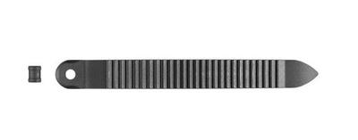 ozubený remeň pre upevnenie snowboard. 17x1,8 cm burton