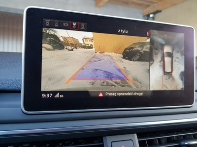 монтаж камеры 360 Audi A4 B9 8w купить с Allegro польша Zapchasti