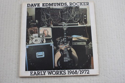DAVE EDMUNDS Rocker Early Works 1968/72 2LP EX