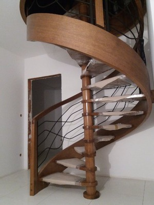 schody gięte spiralne  cała Polska