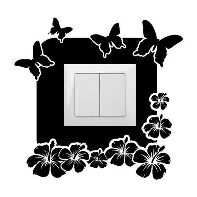 наклейка ПОД КОНТАКТ наклейки Выключатель и стену