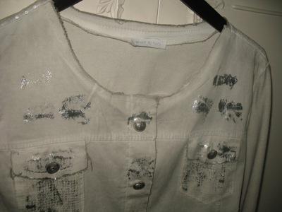 kurtka marynarka bluza 38   40 dresowa