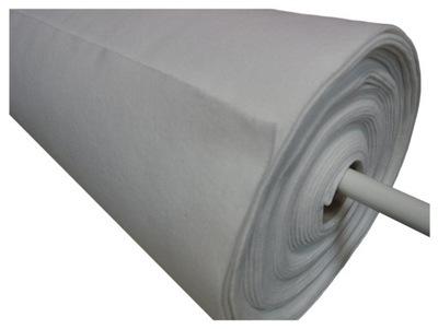 войлок Белый Мягкий 3 мм, 400 г/м2 сорт . И 50x100 см