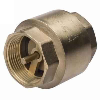Латунный обратный клапан с грибком серебряного 1
