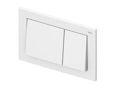 Montážny rám pre závesné WC - Splachovacie tlačidlo TECEbase WHITE pre WC TECE