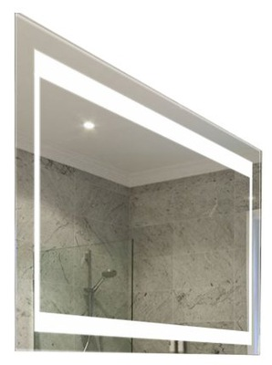 S1 зеркало ванной LED Подсветка 80 x 60