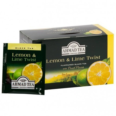 Ahmad Tea Lemon & Lime Twist 20tb
